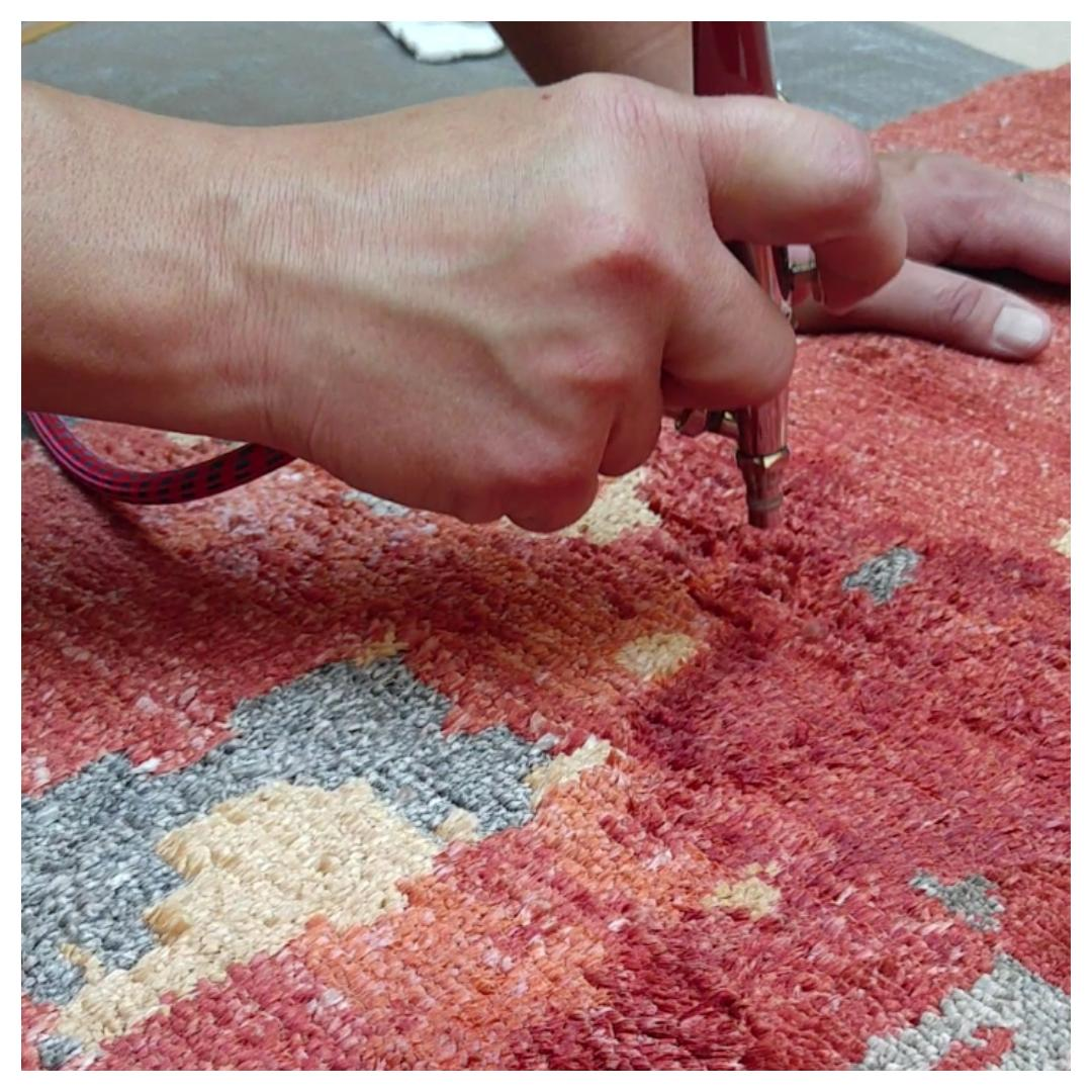 Oriental Rug Dyeing - The Carpet